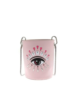 KENZO: cross body bags - Kontact Eye Mini bucket bag