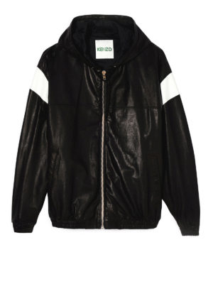 Kenzo: leather jacket - Hyper KENZO leather jacket
