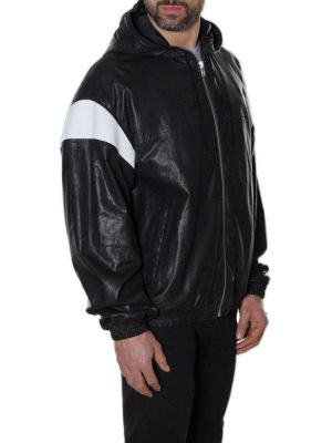 Kenzo: leather jacket online - Hyper KENZO leather jacket