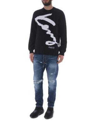 KENZO: maglia collo rotondo online - Pullover Kenzo Signature