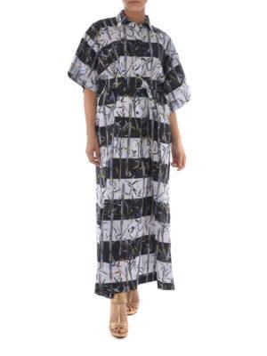 KENZO: abiti lunghi online - Abito maxi Bamboo Stripes
