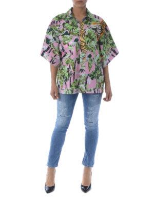 KENZO: camicie online - Camicia reversibile Bamboo Tiger