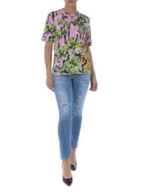 KENZO: t-shirt online - T-shirt Bamboo Tiger