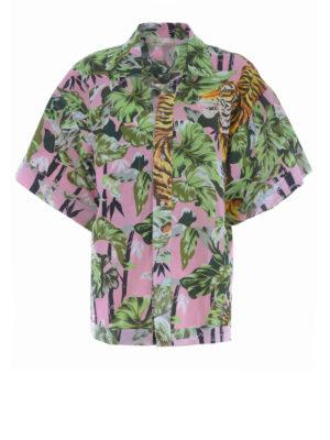 KENZO: camicie - Camicia reversibile Bamboo Tiger