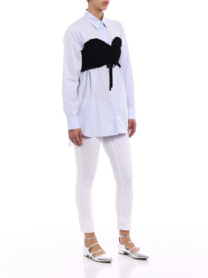 Kenzo: shirts online - Sensual bustier straight line shirt