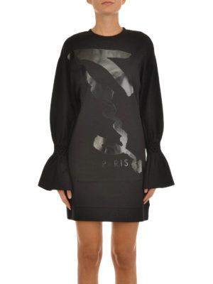 Kenzo: short dresses online - Signature print mini dress