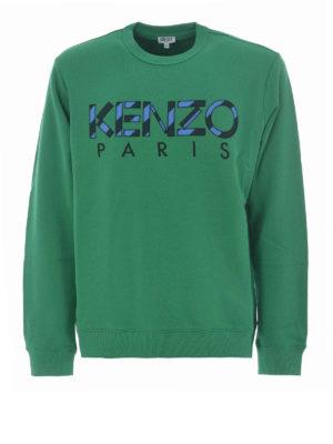 Kenzo: Sweatshirts & Sweaters - Kenzo green sweatshirt