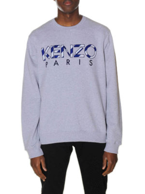 Kenzo: Sweatshirts & Sweaters online - Paris embroidered logo sweatshirt