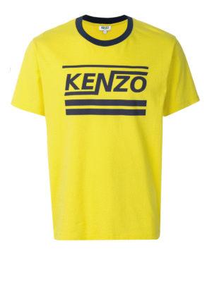 Kenzo: t-shirts - Hyper Kenzo cotton T-shirt