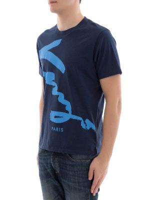 Kenzo: t-shirts online - Kenzo Signature cotton T-shirt