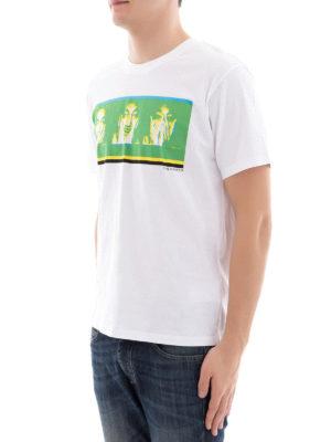 Kenzo: t-shirts online - Portrait print cotton T-shirt