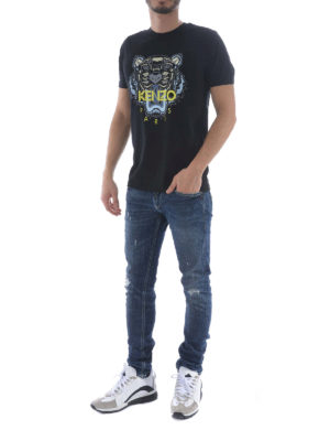Kenzo: t-shirts online - Tiger black T-shirt