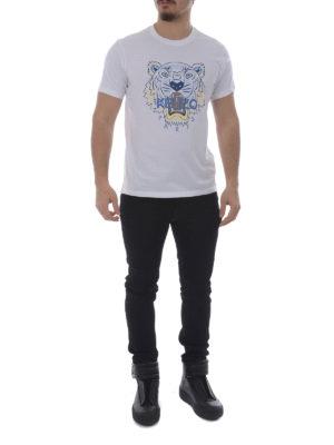 Kenzo: t-shirts online - Tiger white T-shirt