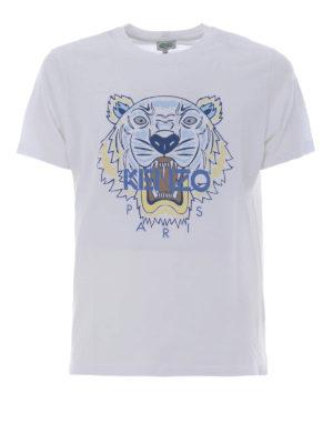 Kenzo: t-shirts - Tiger white T-shirt