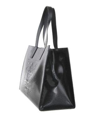 Kenzo: totes bags online - Logo embossed shopping bag