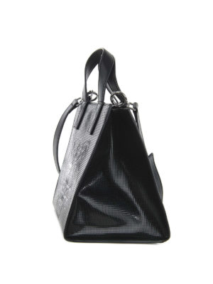 Kenzo: totes bags online - Logo embossed small shopping bag