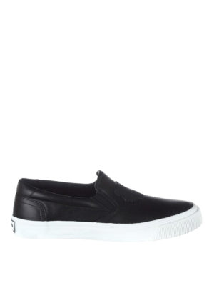 Kenzo: trainers - Rubber Tiger patch slip-ons