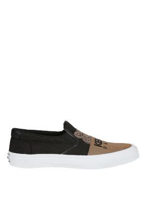 7f713039d000 KENZO: sneakers - Sneaker slip-on K-Skate bicolori