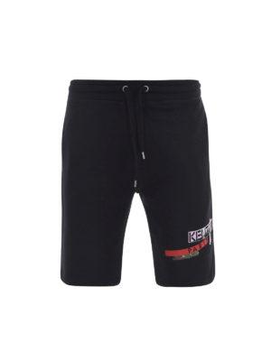 Kenzo: Trousers Shorts - Brushed cotton shorts