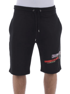Kenzo: Trousers Shorts online - Brushed cotton shorts