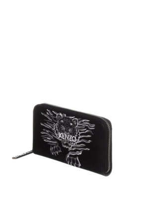Kenzo: wallets & purses online - Crawling Tiger wallet