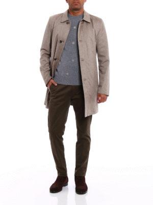 Kired: short coats online - Peak reversible raincoat
