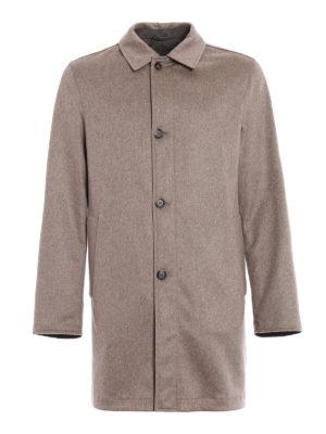 Kired: short coats - Peak reversible raincoat