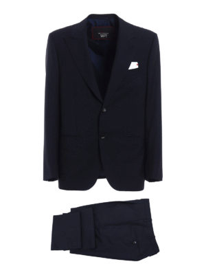 Kiton: formal suits - Wool and mohair two-piece suit