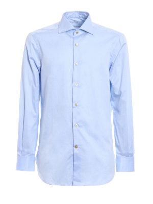 Kiton: shirts - Cotton classic shirt