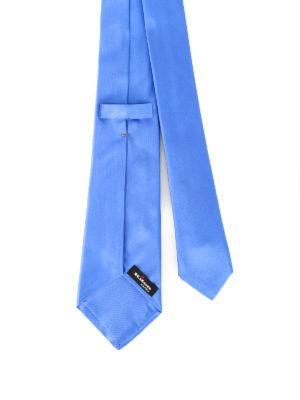 Kiton: ties & bow ties online - Opaque silk satin tie