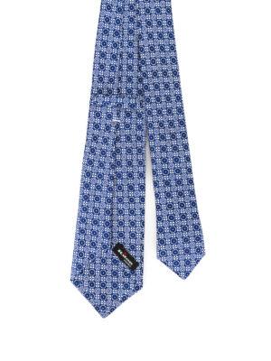 Kiton: ties & bow ties online - Pattern silk tie