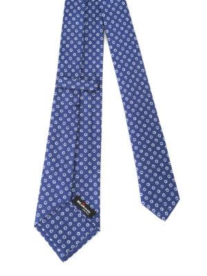 Kiton: ties & bow ties online - Patterned silk tie