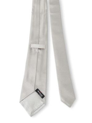 Kiton: ties & bow ties online - Silk satin tie