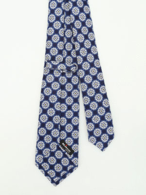 Kiton: ties & bow ties online - Wool and silk dandelion tie