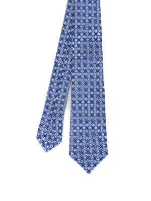 Kiton: ties & bow ties - Pattern silk tie