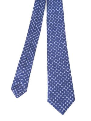 Kiton: ties & bow ties - Patterned silk tie