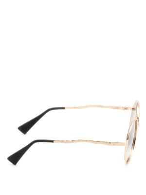 Kuboraum: sunglasses online - Mask H10 round sunglasses