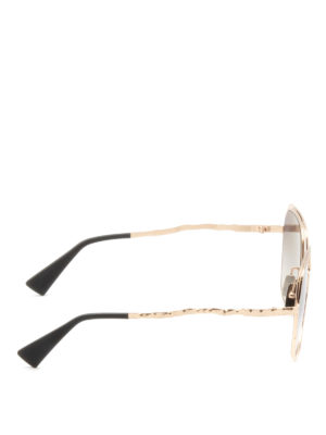 Kuboraum: sunglasses online - Mask H14 square sunglasses