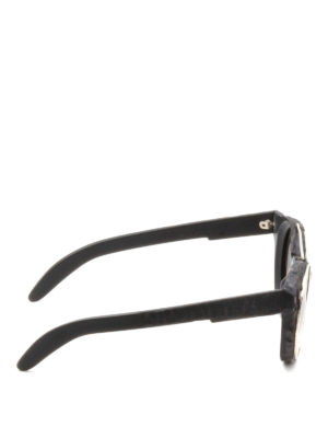 Kuboraum: sunglasses online - Mask U6 matte acetate sunglasses