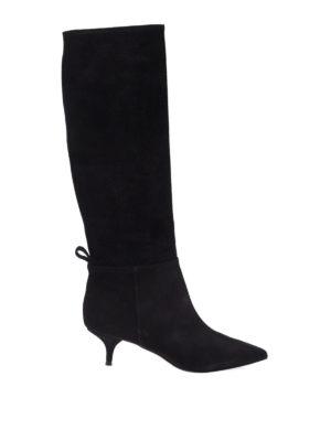L' AUTRE CHOSE: stivali - Stivali neri in camoscio