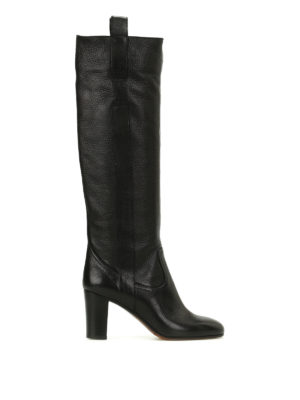 L' Autre Chose: boots - Hammered leather boots