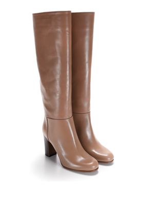 L' Autre Chose: boots - Knee length leather boots