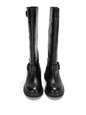 L' Autre Chose: boots online - Buckles leather boots