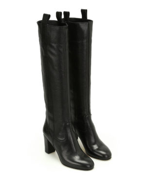 L' Autre Chose: boots online - Hammered leather boots