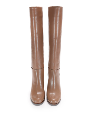 L' Autre Chose: boots online - Knee length leather boots