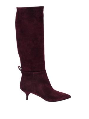 L' AUTRE CHOSE: stivali - Stivali rossi in camoscio
