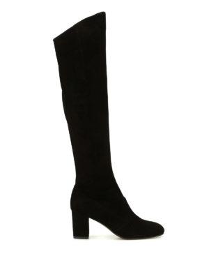L' Autre Chose: boots - Soft suede boots