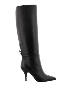 L' AUTRE CHOSE: stivali - Stivali pull on in nappa con tacco a spillo