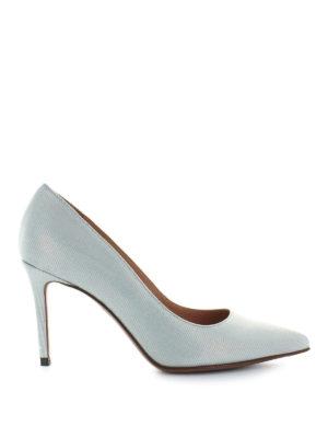 L' AUTRE CHOSE: scarpe décolleté - Décolleté in canneté azzurro
