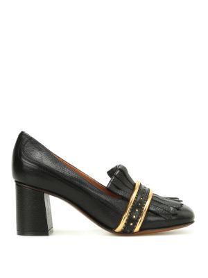 L' Autre Chose: court shoes - Loafer style leather pumps